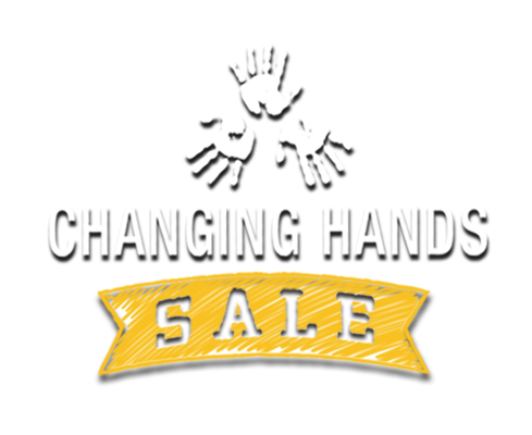 Changing Hands Sale Logo